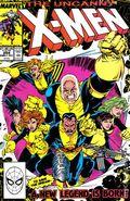 Uncanny X-Men (1963 1st Series) Mark Jewelers 254MJ