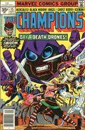 Champions (1975-1978 Marvel 1st Series) 35 Cent Variant 15