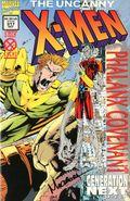 Uncanny X-Men (1963 1st Series) 317DFSIGNEDA
