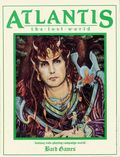 Atlantis The Lost World SC (1988 Bard Games) Fantasy Role-Playing Campaign World 1-1ST