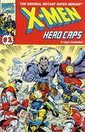 X-Men Hero Caps (1993 Marvel) ITEM#1