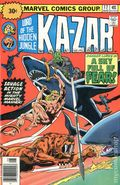 Ka-Zar (1974 2nd Series) 30 Cent Variant 17