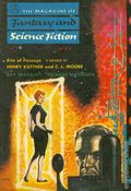 Fantasy and Science Fiction (1949-Present Mercury Publications) Pulp Vol. 10 #5