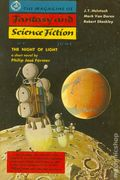 Fantasy and Science Fiction (1949-Present Mercury Publications) Pulp Vol. 12 #6