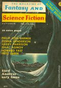 Magazine of Fantasy and Science Fiction (1949-Present Mercury Publications) Vol. 43 #4