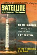 Satellite Science Fiction (1956-1959 Renown Publications) Pulp Vol. 2 #6