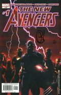 New Avengers (2005 1st Series) 1A.DF.SIGNED.A