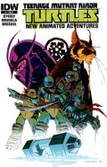 Teenage Mutant Ninja Turtles New Animated Adventures (2013 IDW) 1RI