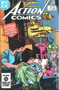Action Comics (1938 DC) Mark Jewelers 554MJ