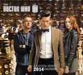 Doctor Who 2014 Wall Calendar (2013) YR-2014