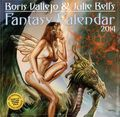 Boris Vallejo and Julie Bell's Fantasy Calendar (2000-Present Workman) YR:2014