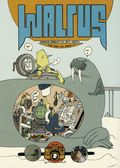 Walrus: Brandon Graham's All Bum Album TPB (2013 Picturebox) 1-1ST