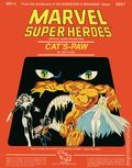 Marvel Super Heroes RPG: Cat's Paw (1984 TSR) Official Game Adventure 6857-1ST