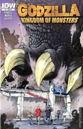 Godzilla Kingdom of Monsters (2011 IDW) 1RE-4COLOR