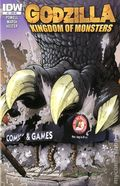 Godzilla Kingdom of Monsters (2011 IDW) 1RE-ROCKIN