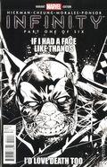 Infinity (2013 Marvel) 1G.B&W