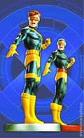 Cyclops Mini Statues Twin-Pack (2003 Marvel) From the X-Men ITEM#1