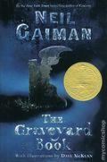 Graveyard Book HC (2008 A HarperCollins Novel) By Neil Gaiman 1st Edition 1-REP