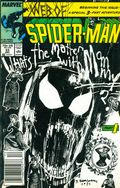 Web of Spider-Man (1985 1st Series) Mark Jewelers 33MJ