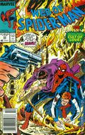 Web of Spider-Man (1985 1st Series) Mark Jewelers 43MJ