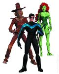 Batman Hush: Poison Ivy, Nightwing and Scarecrow Action Figure 3-Pack (2013 DC) ITEM#1