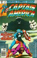Captain America (1968 1st Series) Mark Jewelers 251MJ