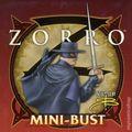 Zorro Mini-Bust (2003 Bowen Designs) ITEM#1