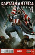 Captain America Living Legend (2013) 1A