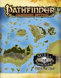 Pathfinder Campaign Setting: Skull and Shackles Poster Map Folio SC (2012 Paizo) 1-1ST