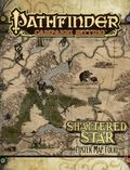 Pathfinder Campaign Setting: Shattered Star Poster Map Folio (2013 Paizo) 1-1ST