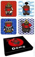 Domo Set of Four Coasters (2013 Dark Horse) SET#1