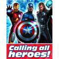 Avengers Party Accessory (2012 Hallmark) ITEM#05