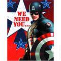 Captain America Party Accessory (2012 Hallmark) ITEM#3