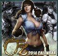 Grimm Fairy Tales Presents Oz 2014 Calendar (2013 Zenescope) 2014