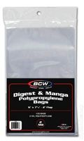 "Digest Bags: 6"" x 7-3/4"" 100pk Polypropylene"