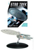 Star Trek The Official Starship Collection (2013 Eaglemoss) Magazine and Figure #001