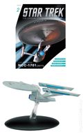 Star Trek The Official Starship Collection (2013 Eaglemoss) Magazine and Figure #002