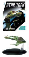 Star Trek The Official Starship Collection (2013 Eaglemoss) Magazine and Figure #003