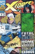 X-Force (1991 1st Series) 25CAS.SIGNED