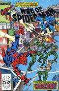 Web of Spider-Man (1985 1st Series) Mark Jewelers 44MJ
