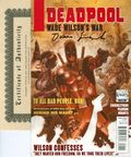 Deadpool Wade Wilson's War (2010) 1DF.SIGNED