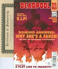 Deadpool Wade Wilson's War (2010) 4DF.SIGNED