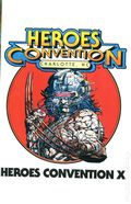 Heroes Convention Program Book Charlotte (1992) 1991