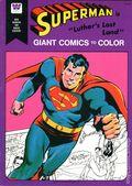 Superman Giant Comics to Color (1975) Whitman 1716