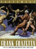 Testament Life and Art of Frank Frazetta HC (2001 Underwood Books) 1-1ST