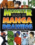 Monster Book of Manga Drawing: 150 Step-by-Step Projects for Beginners SC (2013 Impact) 1-1ST