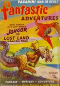 Fantastic Adventures (1939-1953 Ziff-Davis Publishing) Pulp Oct 1940