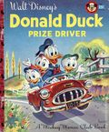 Donald Duck Prize Driver HC (1956 Walt Disney Productions) 1-1ST