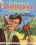 Adventures of Robin Hood and His Merry Men HC (1956 Rand McNally) 1-1ST