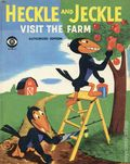 Heckle and Jeckle Visit the Farm HC (1958 Wonder Books) 1-1ST